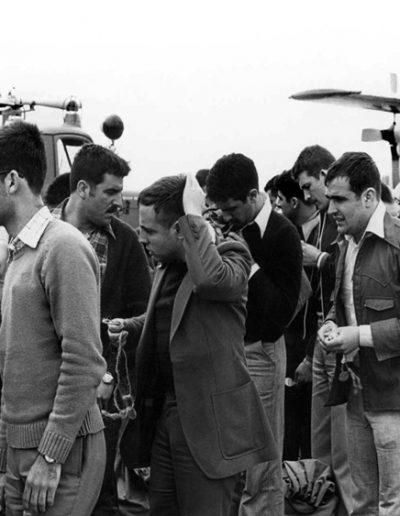 01-05b.- Preocupación por el futuro. Foto: Jesús Palomares. El Aaiún, 21 de Abril de 1975