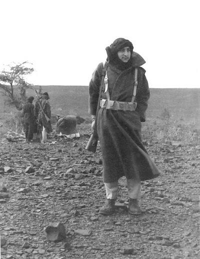 05-01.- Entierro de un cadáver encontrado en La Saguiat. Foto: Adolfo Peña. Edchedería, Marzo 1975