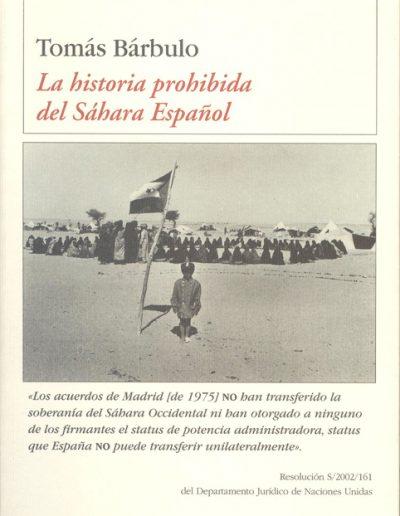 "21.- ""La historia prohibida del Sáhara Español"""