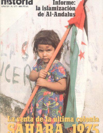 """24.- """"La venta de la última colonia 'SAHARA, 1975' """""""