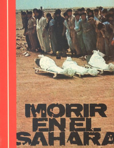 "26.- ""MORIR EN EL SAHARA"""