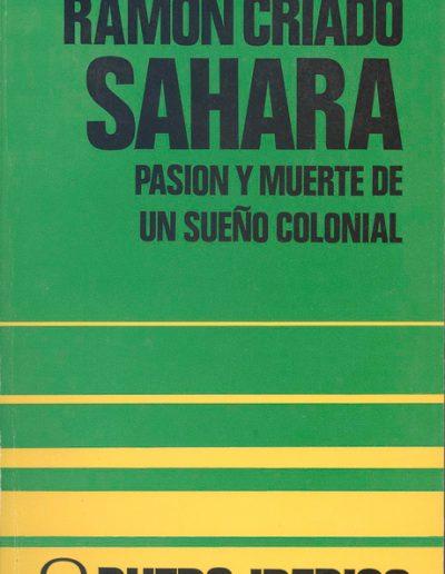 """31.- """"SAHARA 'PASION Y MUERTE DE UN SUEÑO COLONIAL' """""""