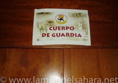 006.- El cuerpo de Guardia. En el Hall del Hotel