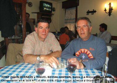 002.- Josep Palou y Miguel Bernal, marzo 2008