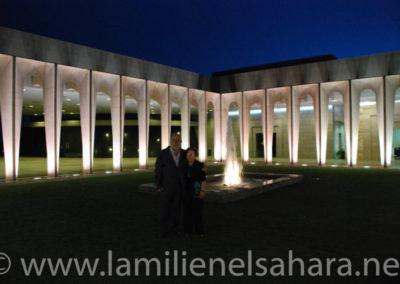 Una noche en los jardines de palacio - Autor: Fco. José Jordá.