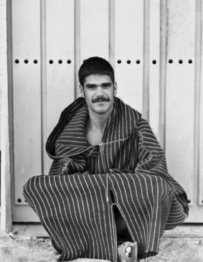 05-06.- Perfecta adaptación al medio saharaui. Foto: José Hernández. Aargub, 1971