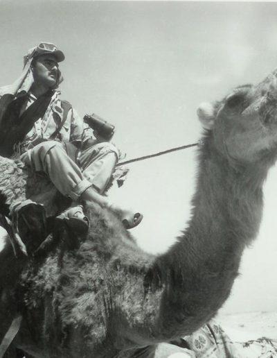 05-09a.- Lawrence de Arabia, versión Tropas Nómadas. Foto: Gregorio Ortega. Aargub, 1974
