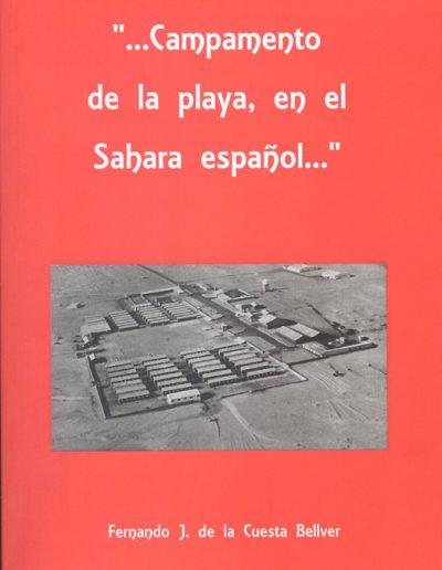 """05.- """"…Campamento de la playa, en el Sahara español…"""""""
