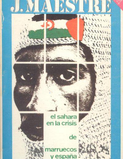 """09.- """"el sahara en la crisis de marruecos y España"""""""
