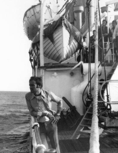 10-5.- De vuelta a casa en el Viera & Clavijo Foto: José Granado. 10-11 de Septiembre de 1974