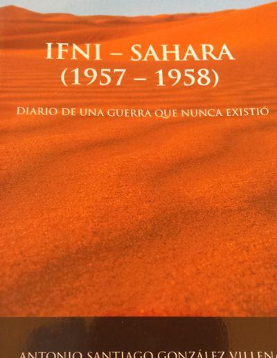 """17.- """"IFNI-SAHARA (1957-1958) 'DIARIO DE UNA GUERRA QUE NUNCA EXISTIÓ' """""""