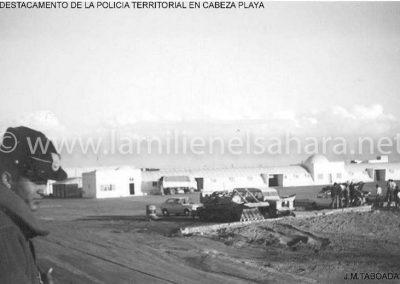 016.- Cabeza Playa, Policía Territorial.