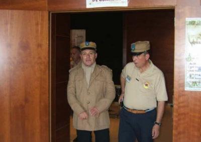 005.- El cuerpo de Guardia. En el Hall del Hotel