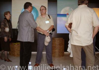 008.- Presentaciones entre los asistentes y primaras 'batallitas'