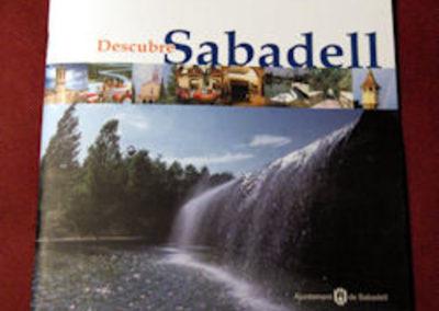 Folleto turístico de Sabadell Gentileza de Jaume Manyosa.