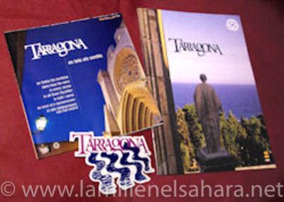 Folleto turístico de Tarragona Gentileza Albert Marín.
