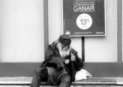 Primer Premio: Pobre y nómada - Autor: Roberto Maseda