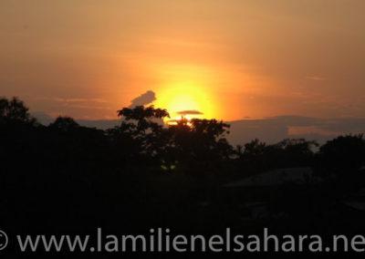 Puesta de Sol, Rio Napo,Amazonia Ecuatoriana - Autor: Alicia.