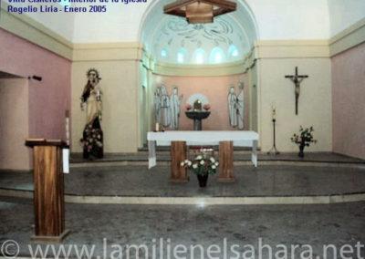 005.- Villa Cisneros, Recientes. Iglesia.