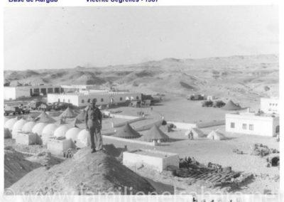 005.- Aargub, Panorámica de la Base, 1958.