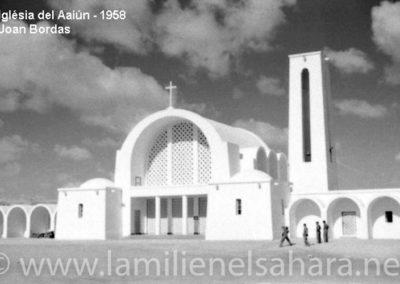 086.- El Aaiún, Frontal de la Iglesia.