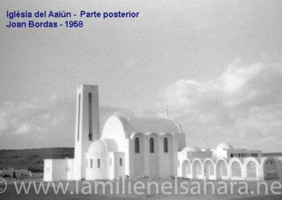 089.- El Aaiún, Posterior de la Iglesia.