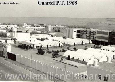 040.- El Aaiún, Cuartel de la Policía territorial.
