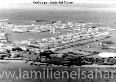006.- Villa Cisneros, Vista aérea.