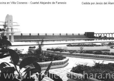 011.- Villa Cisneros, Cuartel A. de Farnesio, Piscina.