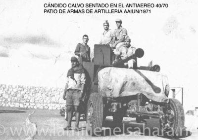 014.- Pieza antiaérea Bofors 40/70.