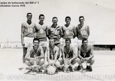 056.- BIR 1, Equipo de baloncesto, 1970.
