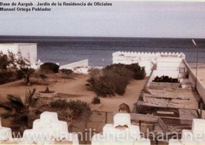 067.- Aargub, Jardín Residencia Oficiales.
