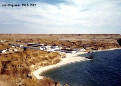 007.- Aargub, Panorámica de la Base, 1971.