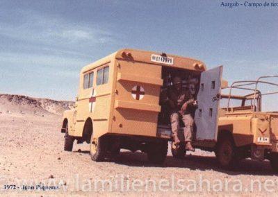 065.- Aargub, Ambulancia en el campo de tiro.