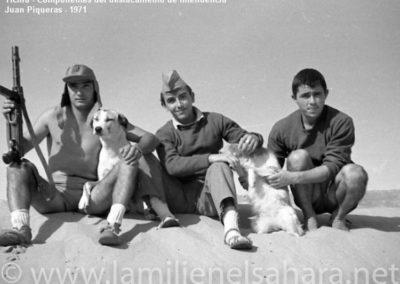 036.- Tichla, Soldados de Intendencia.