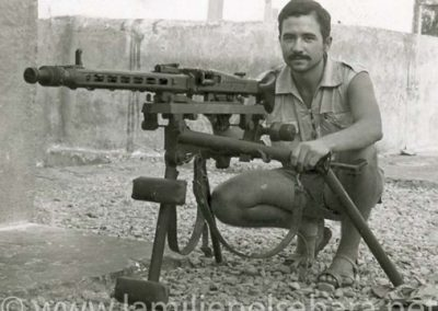 010.- Ametralladora MG 42.