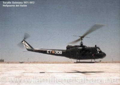 004.- Helicóptero UH-1H.
