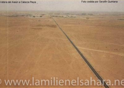 030.- El Aaiún, Carretera de El Aaiún a Cabeza Playa.