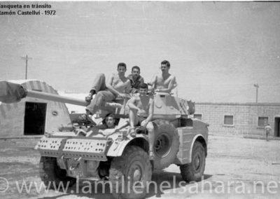 009.- AML H-90 Panhard. En tránsito (Cía. de Mar).