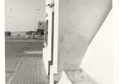 021.- Cabeza Playa, Entrada Policía Territorial.