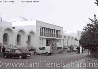 017.- El Aaiún, Hospital.
