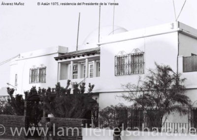 026.- El Aaiún, Residencia del Presidente de la Yemaa.