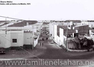 033.- El Aaiún, Calle próxima a la Misión.