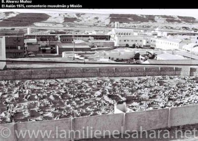 034.- El Aaiún, Cementerio Musulmán.