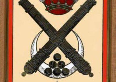 011.- Escudo Regimiento Mixto de Artillería nº 95
