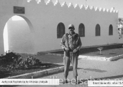 032.- Aargub, Entrada Residencia Oficiales.