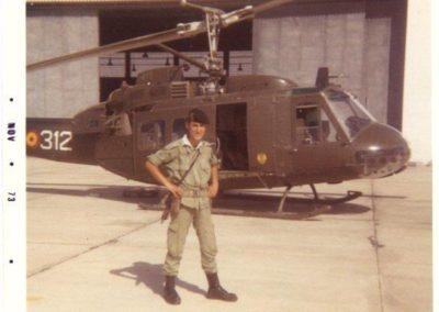 005.- En la Unidad de Helicópteros.