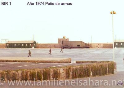 009.- BIR 1, Patio de. Armas 1975
