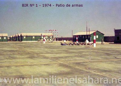 010.- BIR 1, Patio de Armas 1975.