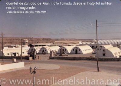015.- El Aaiún, Cuartel de Sanidad.